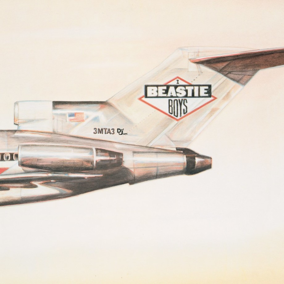 This is the cover for Beastie Boys' 'Licensed to Ill.'