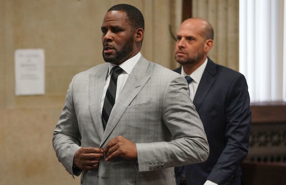 R. Kelly pleads not guilty to a new indictment before Judge Lawrence Flood.