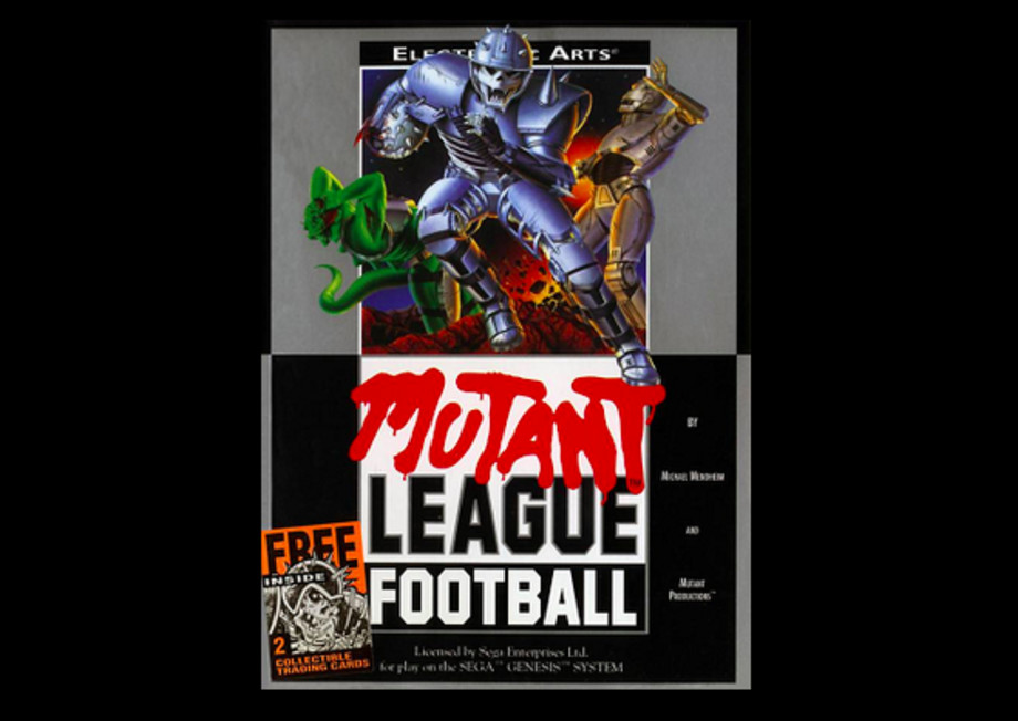 best-sega-genesis-mutant-league-football