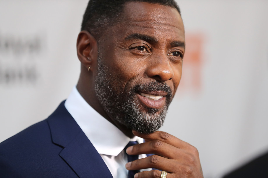 Idris Elba at The Mountain Between Us Premiere