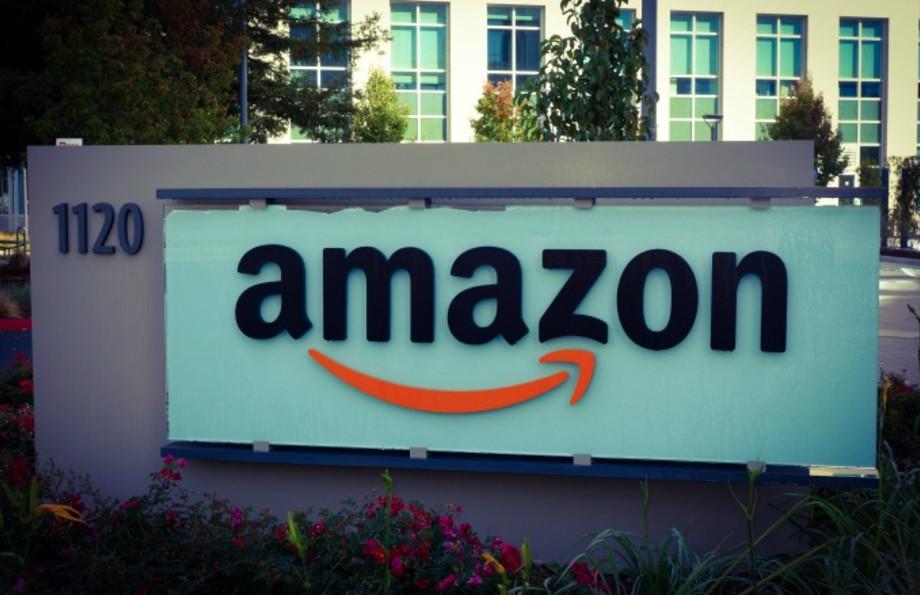 Amazon sign.