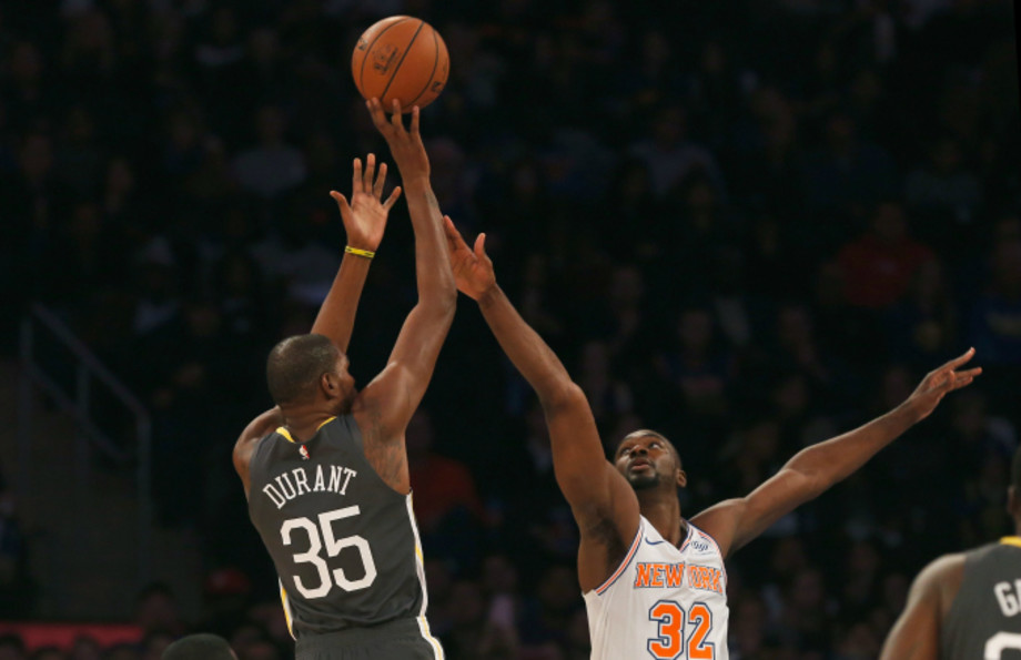 Kevin Durant at Madison Square Garden