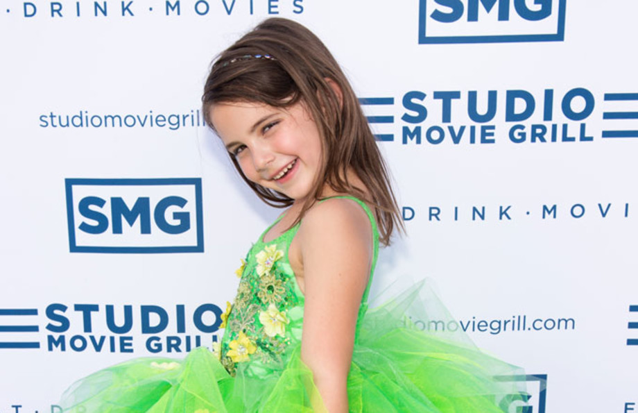 Child actress Lexi Rabe at the 'Godzilla: King of Monsters' premiere