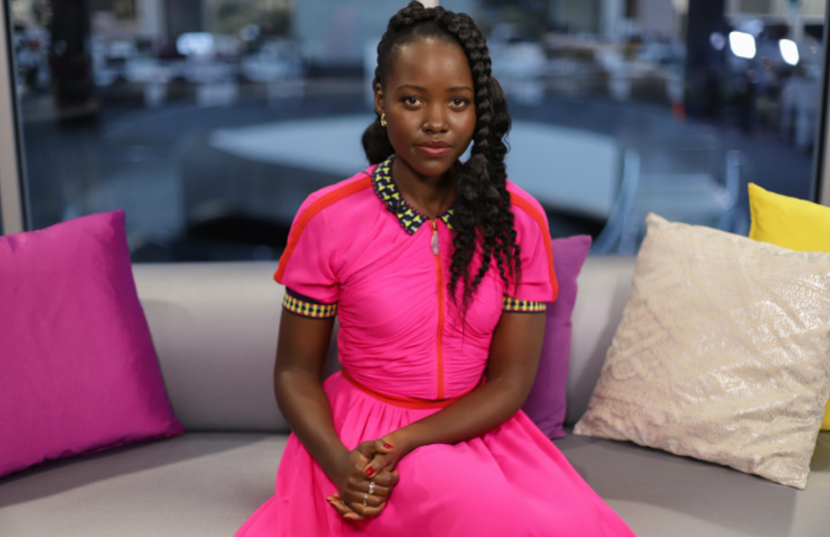 Lupita Nyong'o attends Mujeres Imparables Fireside Chat