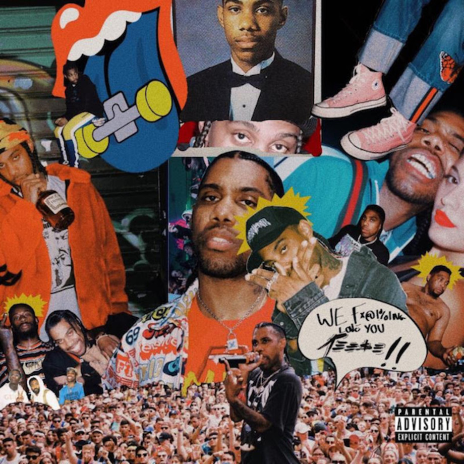 Reese LaFlare cover art for debut album