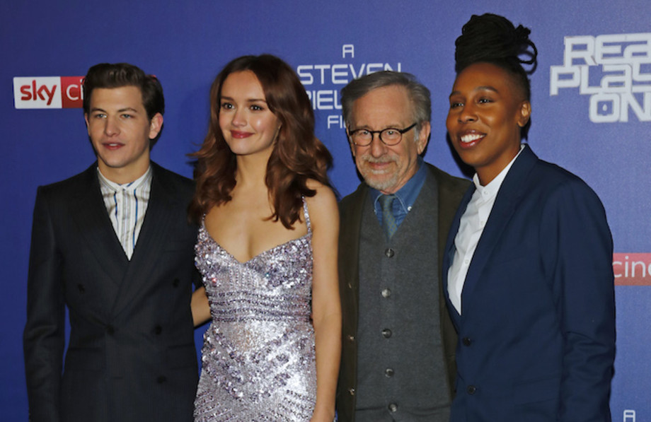 Ready Player One cast at European premiere