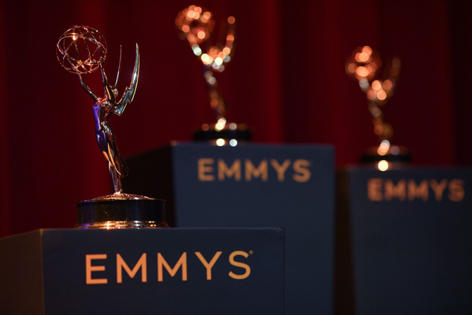 View of the set at the 71st Emmy Awards Nominations Announcement