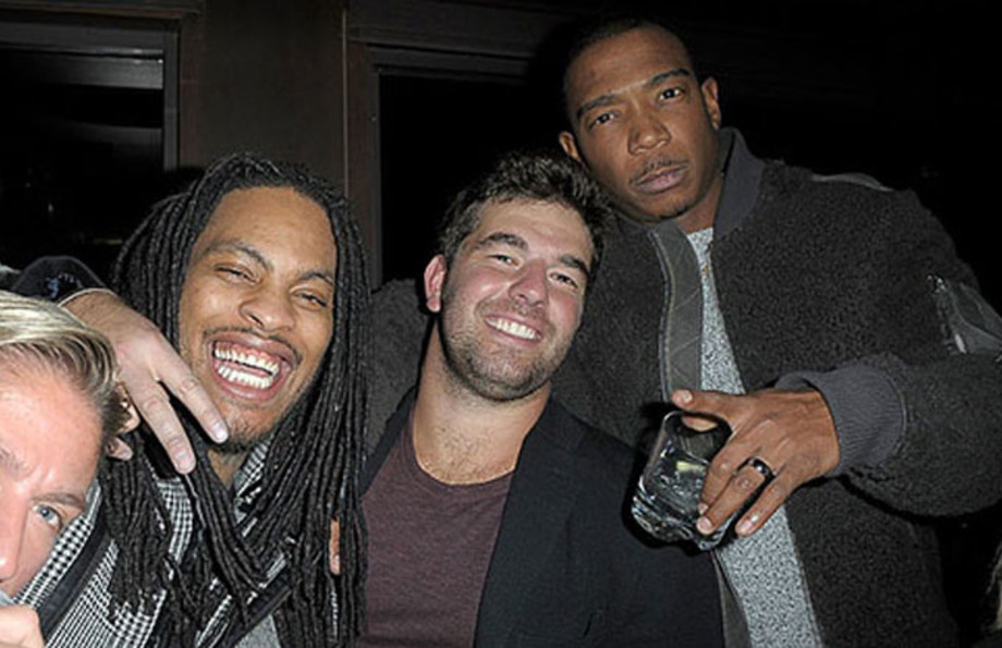 Fyre Festival founder Billy McFarland along with Waka Flocka and Ja Rule.