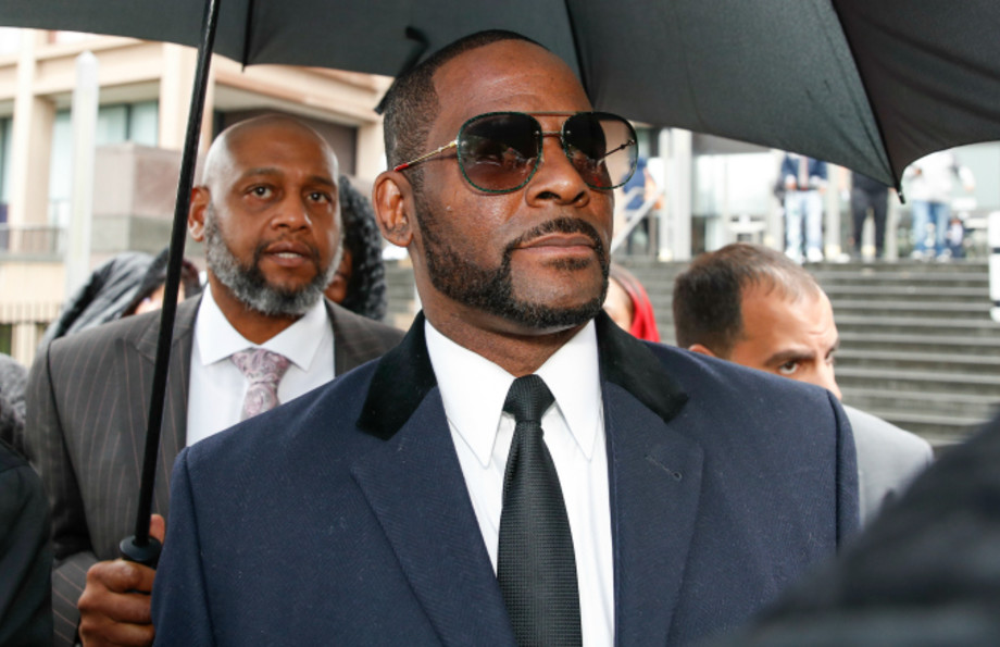 R. Kelly leaves the Leighton Criminal Court Building