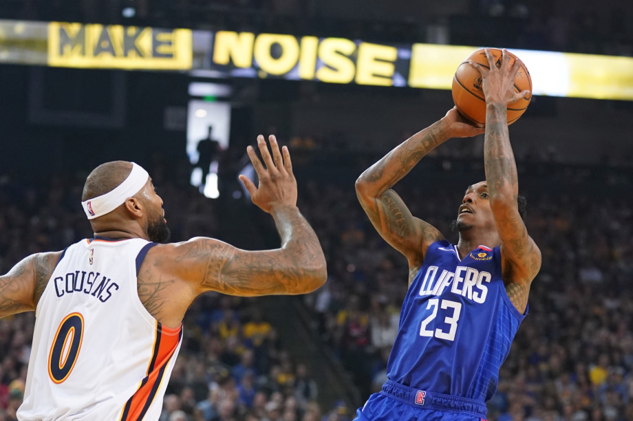 Lou Williams DeMarcus Cousins Clippers Warriors 2019