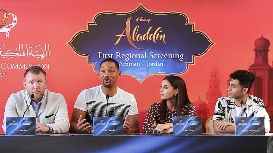'Aladdin' cast