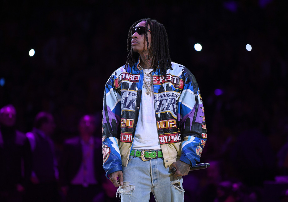 Wiz Khalifa Performing at The First Lakers Game After Kobe Bryant's Death