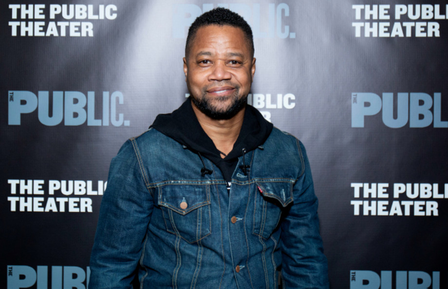 Cuba Gooding Jr. attends 'Ain't No Mo' opening night