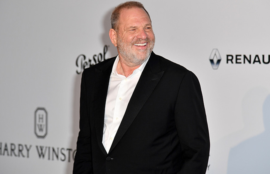 This is a photo of Harvey Weinstein.