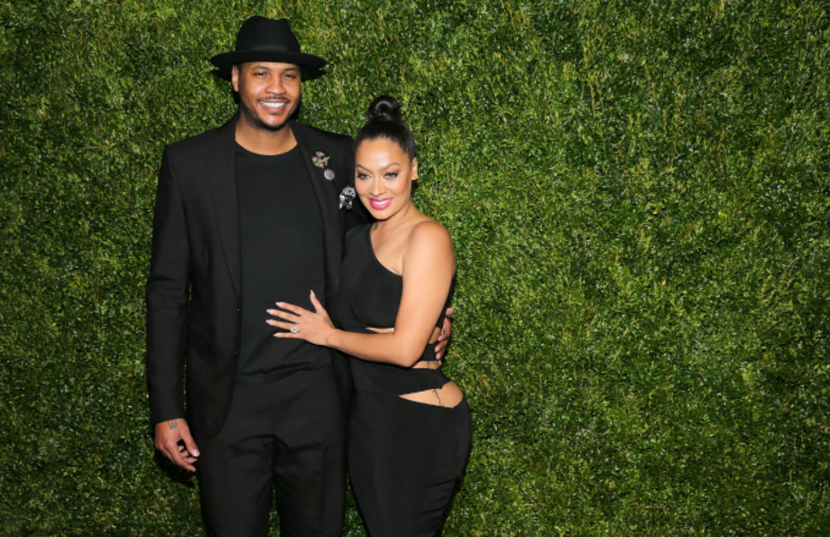 Carmelo Anthony and La La Anthony
