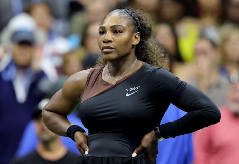 Serena Williams at the US Open