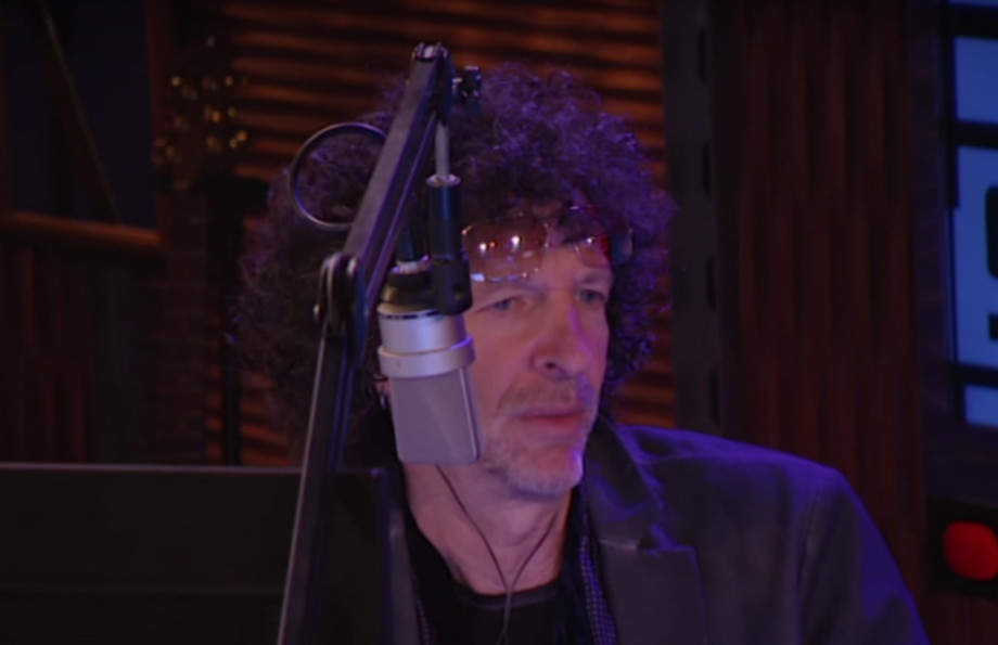 Howard Stern, seen here Howard Sterning