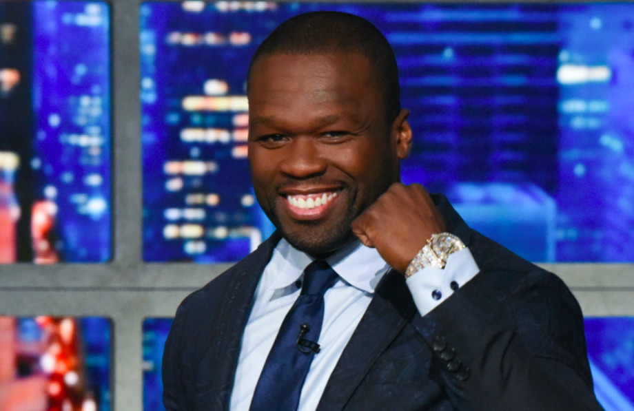 """The Late Show with Stephen Colbert and guest Curtis """"50 Cent"""" Jackson"""