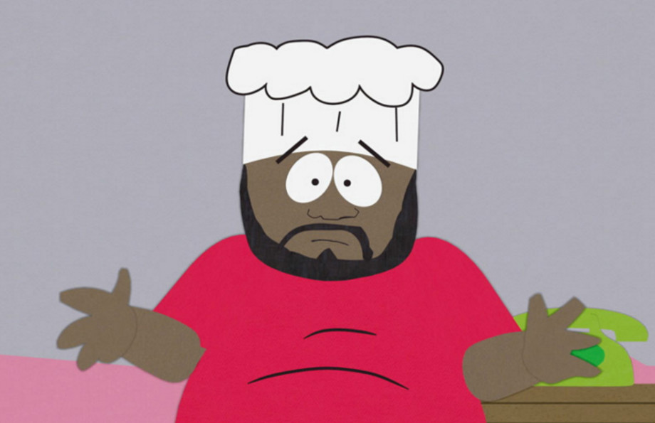 Chef on 'South Park'