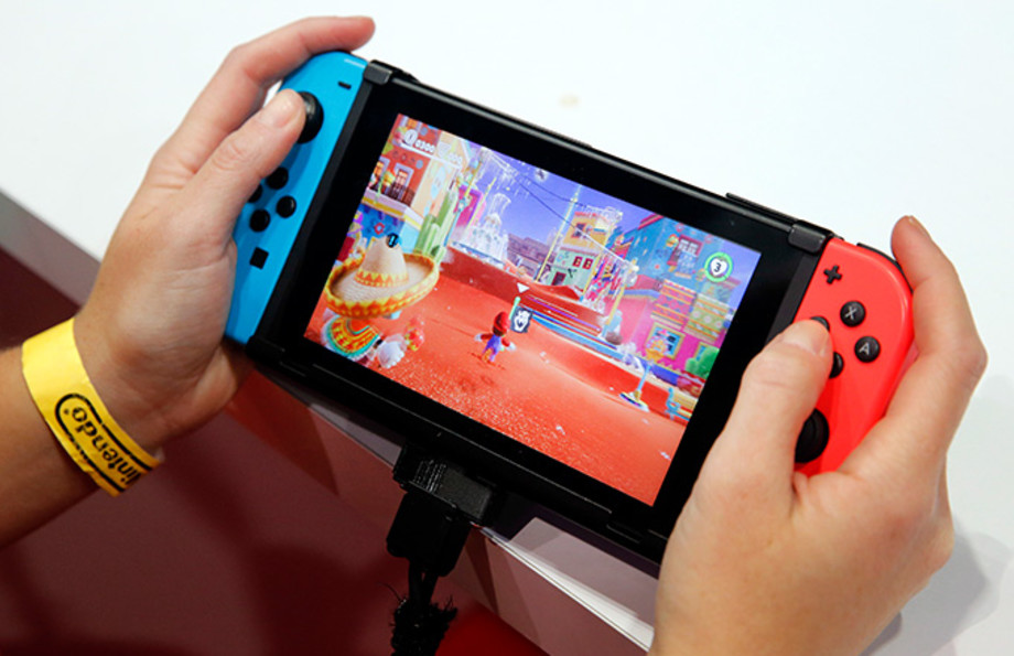 This is a photo of Nintendo Switch.