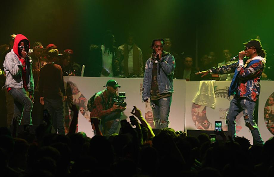 Migos perform onstage at Puma & Hot 107.9 presents Migos 'Culture' Album Release