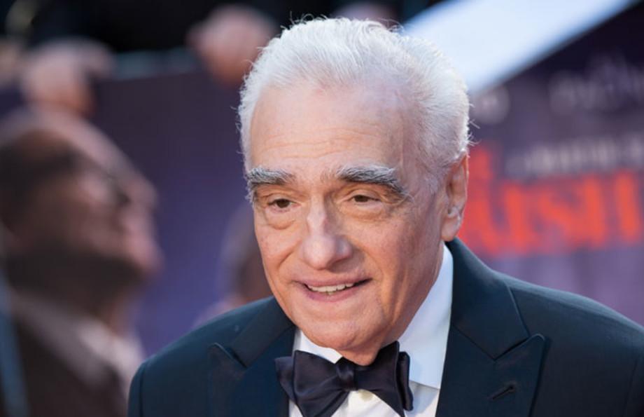Martin Scorsese at the premiere of 'The Irishman'