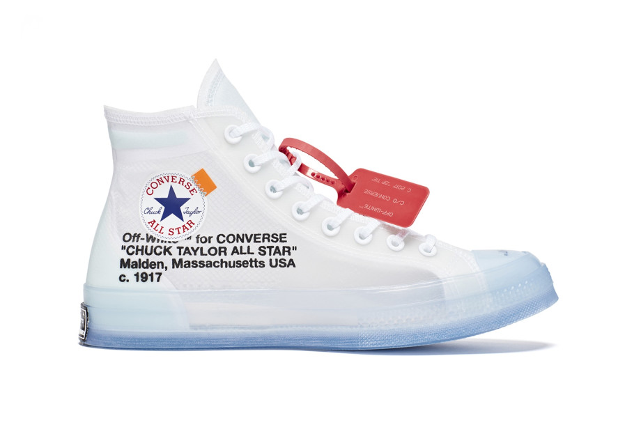 The Converse x Virgil Abloh Chuck 70 is dropping soon