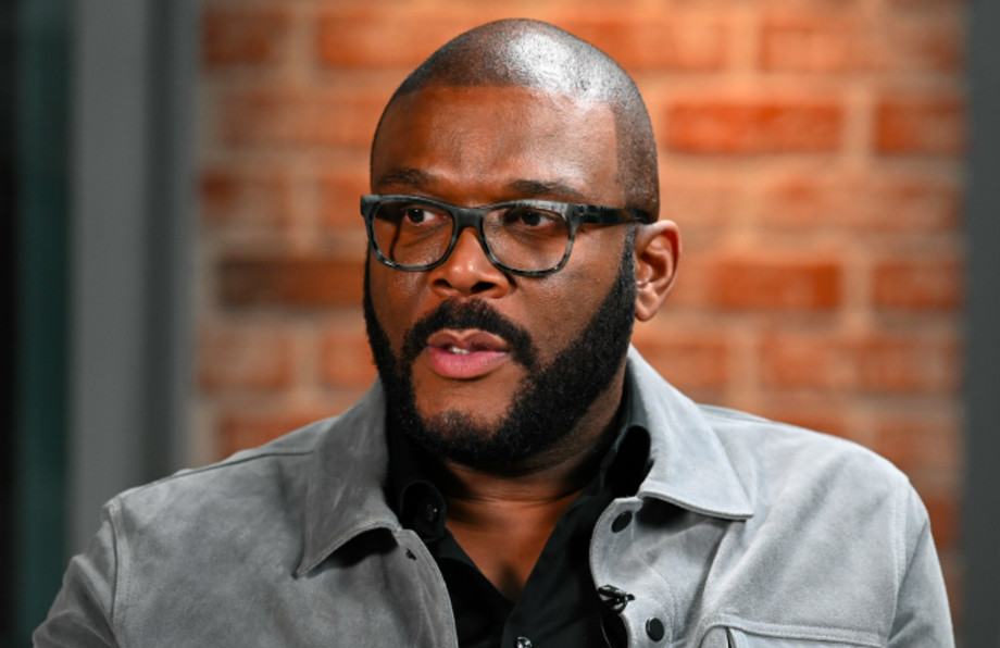 Actor/producer Tyler Perry visits LinkedIn Studios