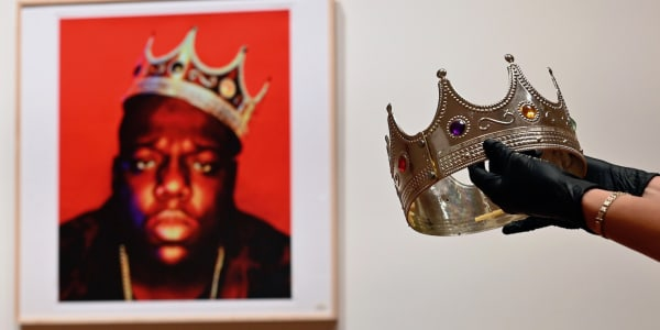 Notorious B.I.G.'s 'King of New York' Crown Sells for $475,000 at Auction