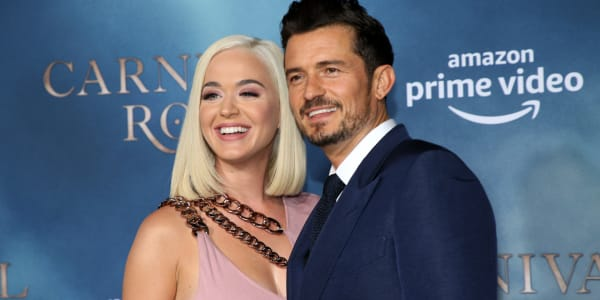 Katy Perry and Orlando Bloom Announce They're Expecting a Baby Girl