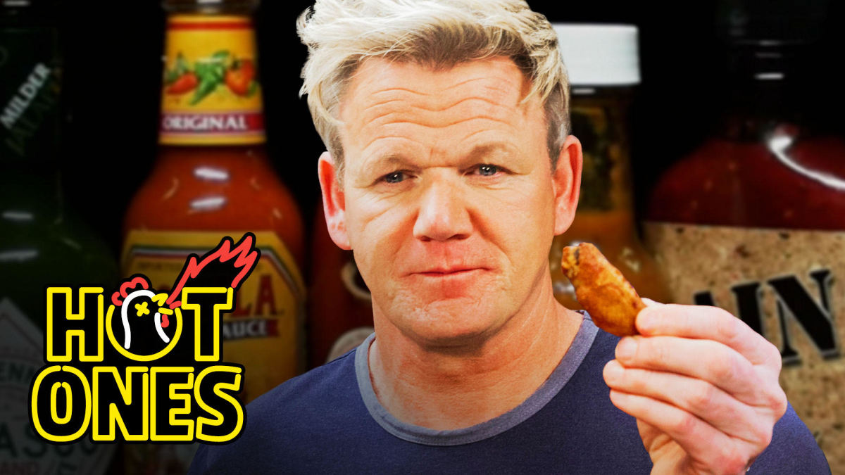 Gordon Ramsay Savagely Critiques Spicy Wings | Hot Ones