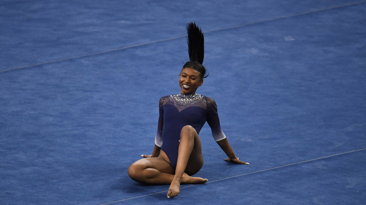 UCLA Gymnast Nia Dennis Goes Viral With Floor Routine Incorporating Kendrick Lamar and 2Pac