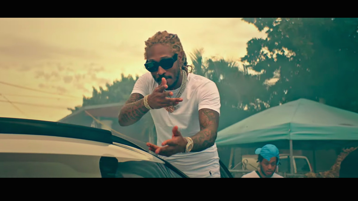 "Watch Future Stunt in Front of Luxury Whips in ""Ridin Strikers ..."