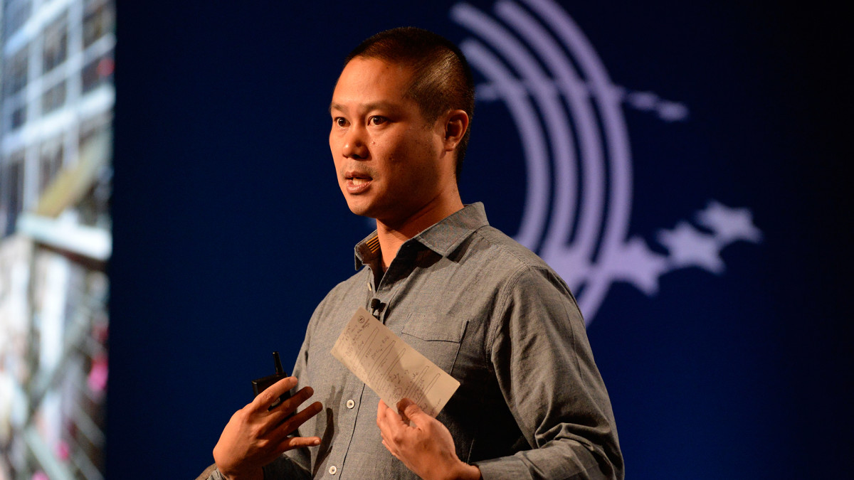 Former Zappos CEO Tony Hsieh Reportedly Locked Himself In Shed With 'Whippets' and Alcohol Before Death