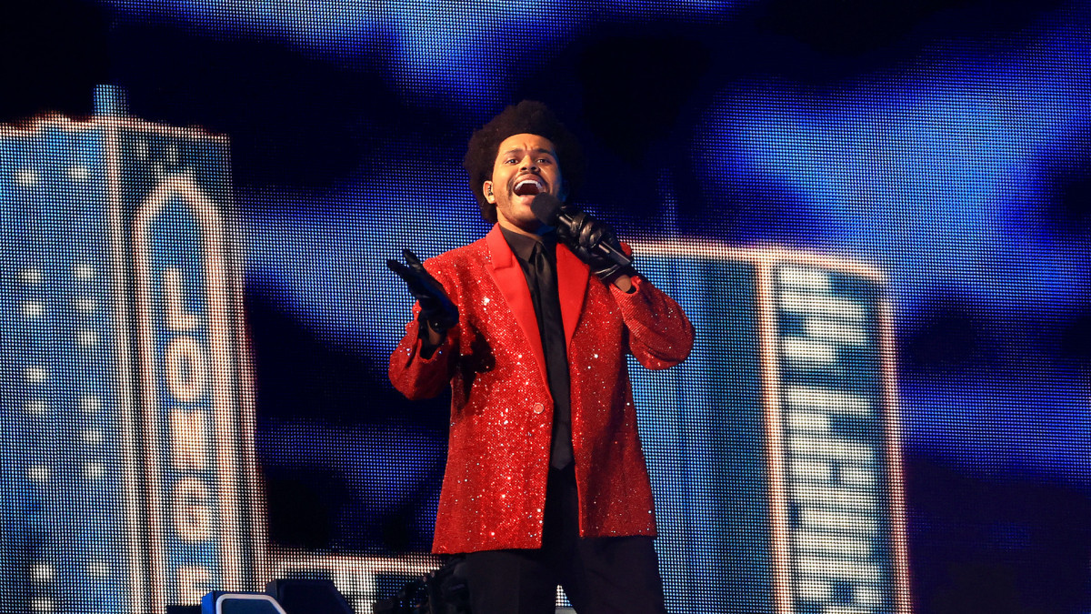 The Weeknd's Super Bowl LV Halftime Show Makes History - cover