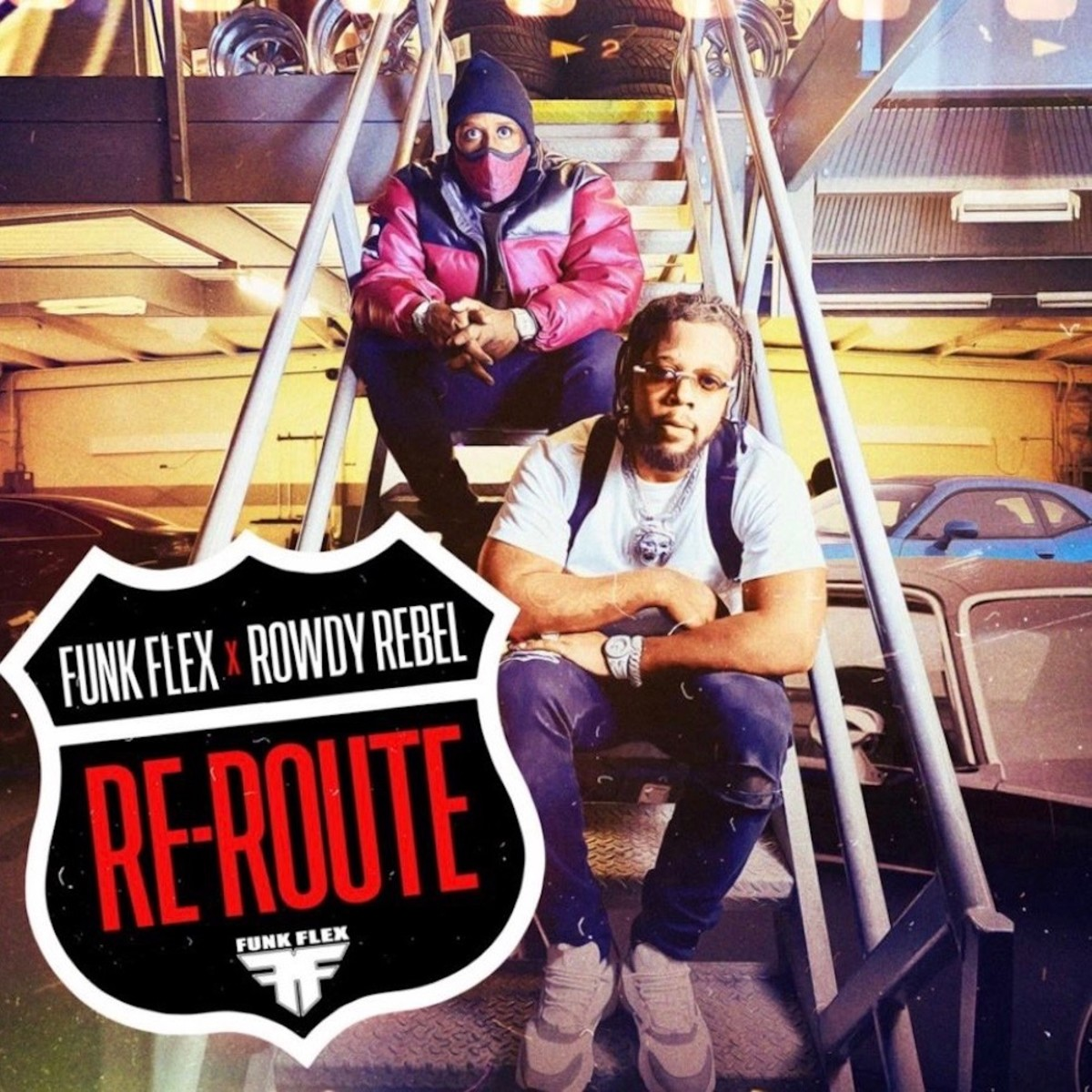 """Rowdy Rebel and Funk Flex Share Video for New Track """"Re-Route"""""""