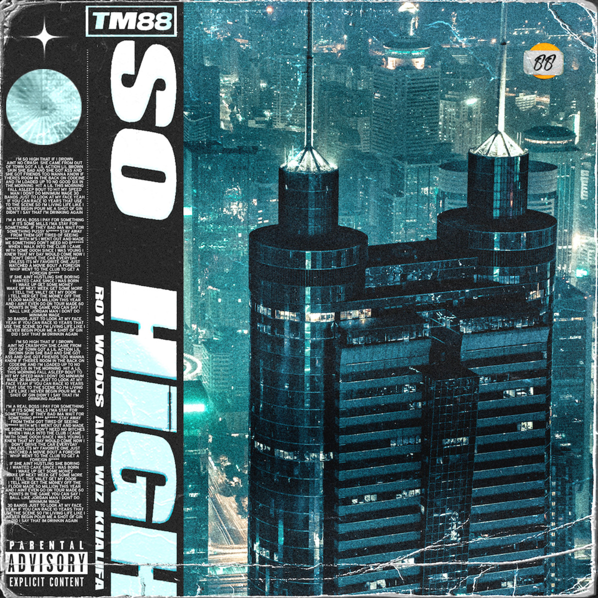 TM88, Виз Халифа и Рой Вудс собрались вместе для «So High»