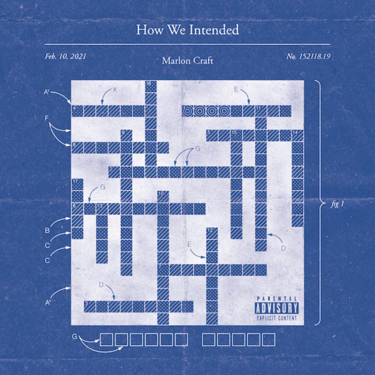 Марлон Крафт поделился новым альбомом «Как мы задумывались»