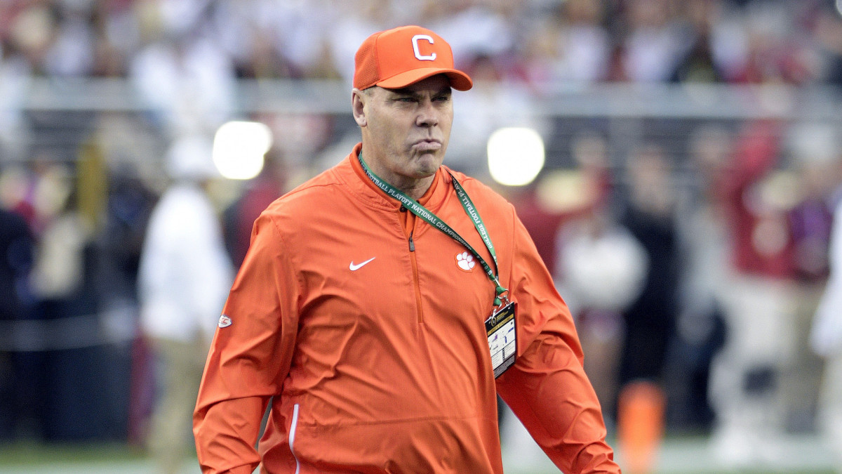 Clemson Assistant Coach Apologizes for Calling Player the N-Word in 2017