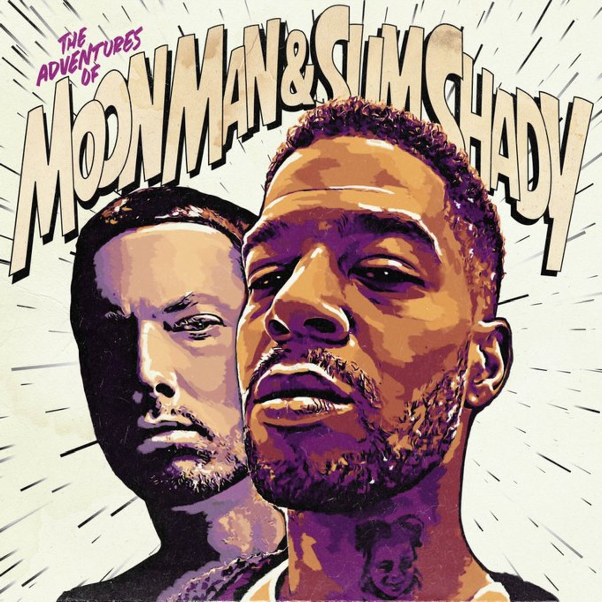 "Kid Cudi and Eminem Drop ""The Adventures of Moon Man and Slim Shady"""