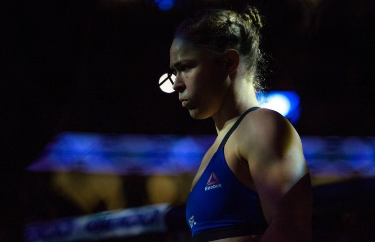 Dana White says Ronda Rousey is not ready to quit MMA