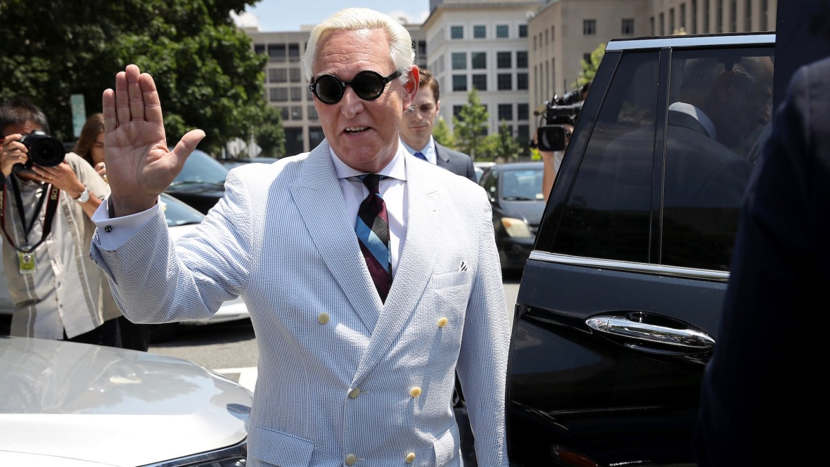 Trump Commutes Roger Stone`s Three-Year Prison Sentence