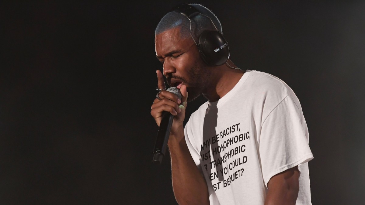 Frank Ocean Urges Fans to Vote: 'Watching [Trump] Dragged Out Will Be Way More Entertaining Than These Debates'