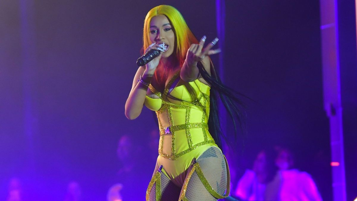 Cardi B Revealed Her New Detailed Butterfly Back Tattoo