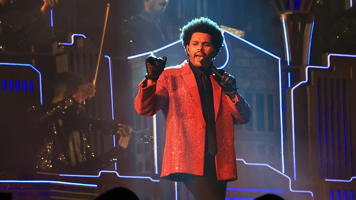 Watch The Weeknd's Super Bowl LV Halftime Performance