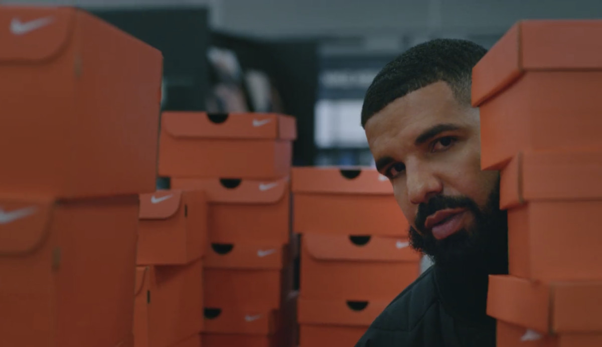 Drake Shot an Entire Music Video at Nike's Headquarters
