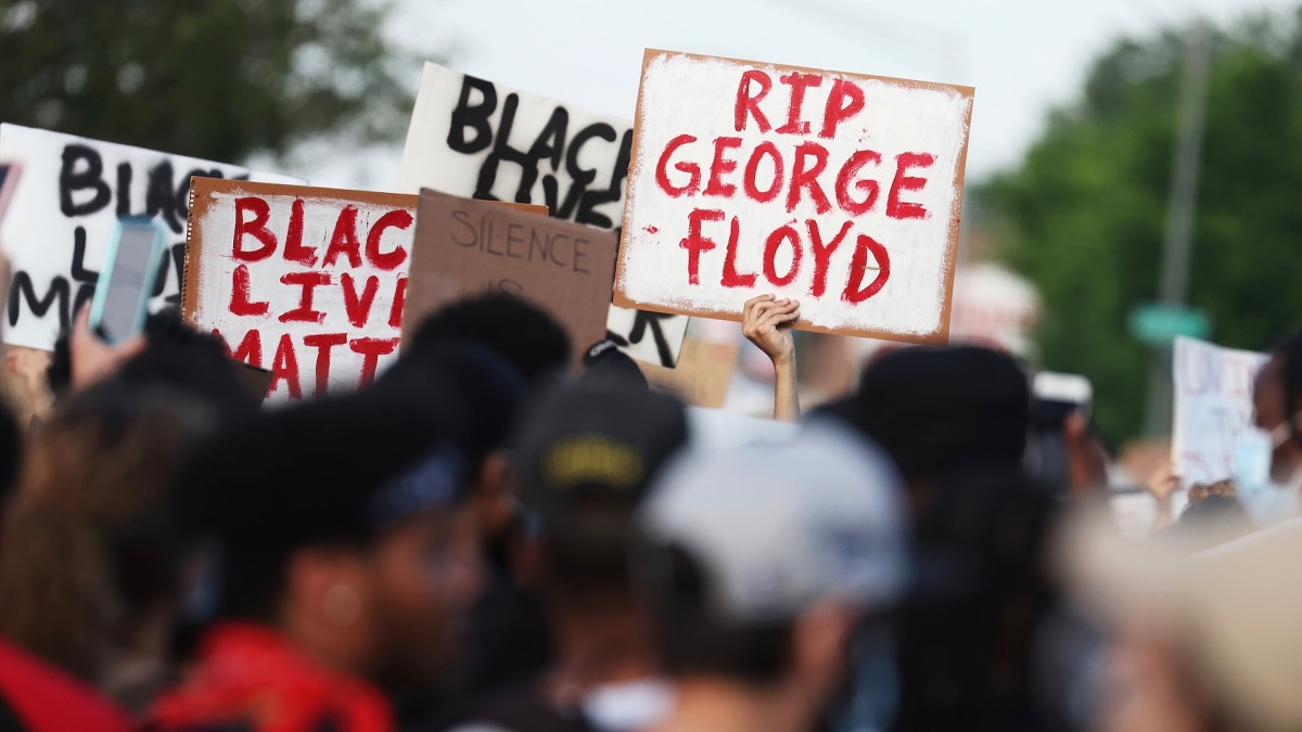 Graphic Video Shows Officers Push Man to the Ground at Buffalo Protest