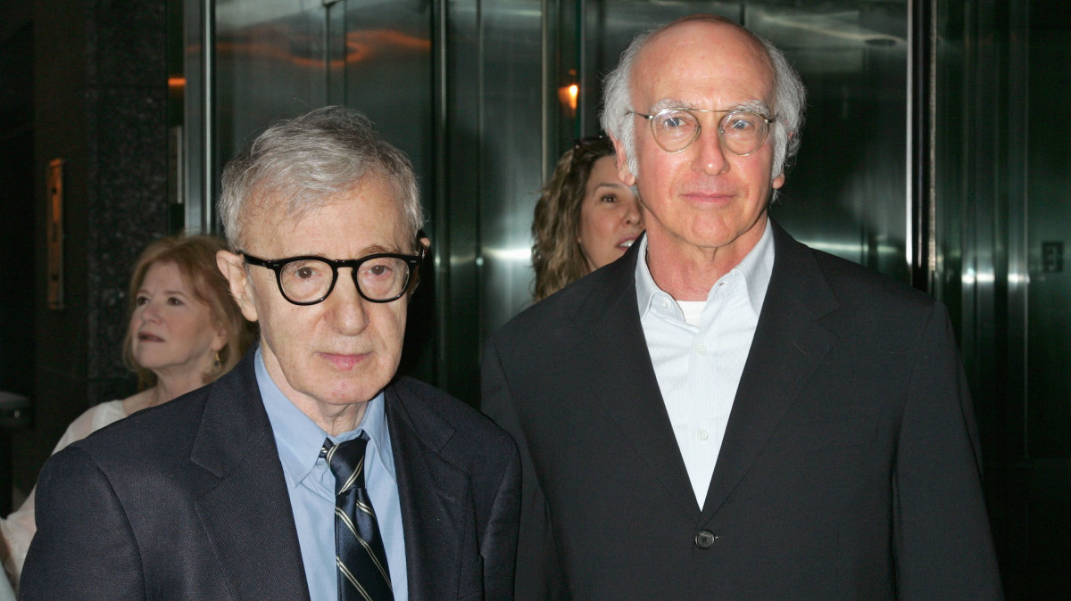 Larry David Says It's 'Hard to Think' Woody Allen 'Did Anything Wrong' After Reading His Memoir