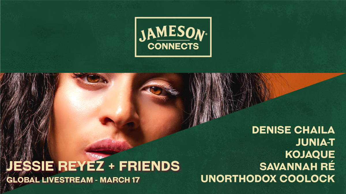 Ирландский виски Jameson объединился с Джесси Рейез, Boiler Room и Nowhere FC для празднования Дня Святого Патрика