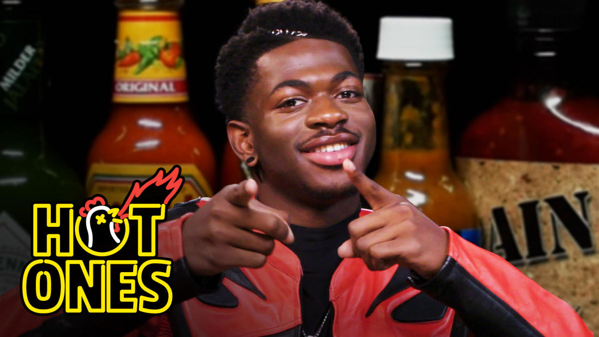 Lil Nas X Celebrates Thanksgiving With the Biggest Last Dab Ever | Hot Ones